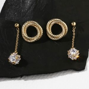 new vanessa mooney  THE TWISTED EARRING SET